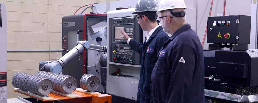 RCM Industries Case Story with Universal Robots
